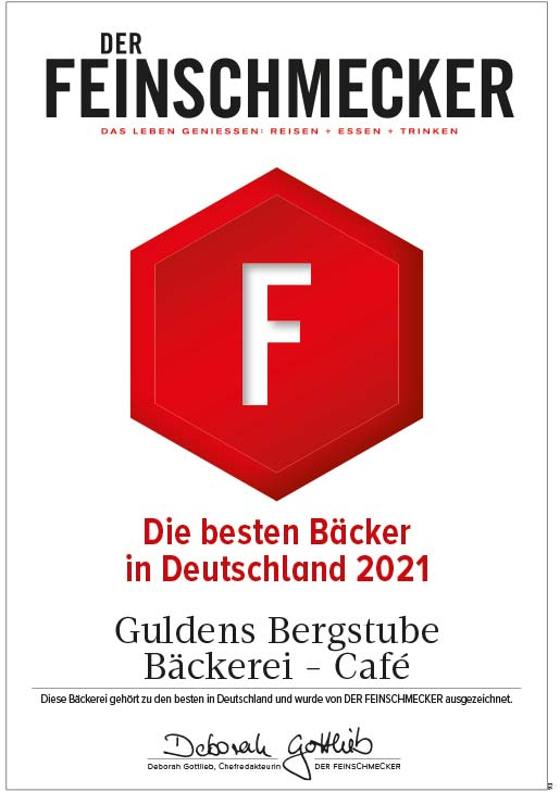 Feinschmecker: Guldens-Bergstube - Eine der besten Bäckereien Deutschlands 2021